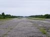 Взлетно-посадочная полоса заброшенного немецкого аэродрома